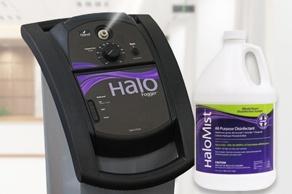 機械による環境表面殺菌で室内空間を短時間で丸ごと殺菌する「Halo fogger(ハロフォガー)」